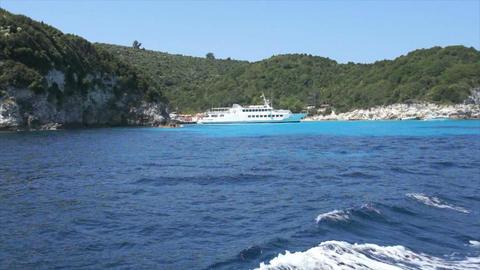 landscape onisland kos in greece Stock Video Footage