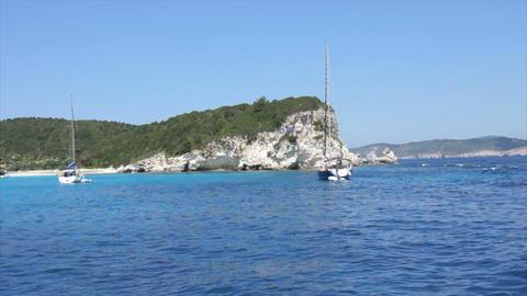 Landscape Onisland Kos In Greece stock footage