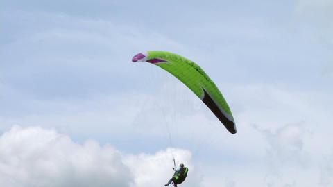 acrobatic paragliding landing 11 Footage