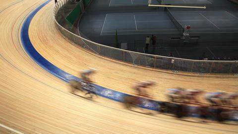 velodrome race blurred motion Live Action