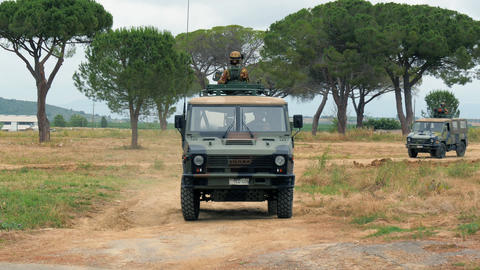 Armored Vehicle, Training stock footage