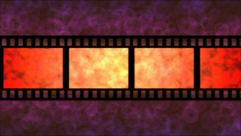 Movie Film Particle Background Animation - Loop Re Animation
