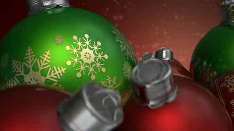 christmas baubels colour pan 2 Animation