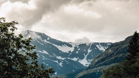 Landscape Timelapse, Innerdalen, Norway Stock Video Footage