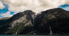 4K Landscape Timelapse, Eidfjordvatnet, Norway Footage