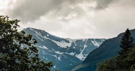 4K Landscape Timelapse, Innerdalen, Norway Footage