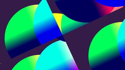 Rotating colored balls Animation