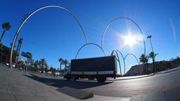 Modern Sculpture in Barcelona Footage