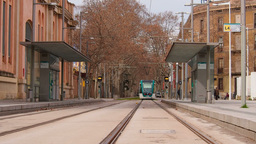 Tramway in Barcelona Live Action