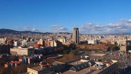 Barcelona stock footage