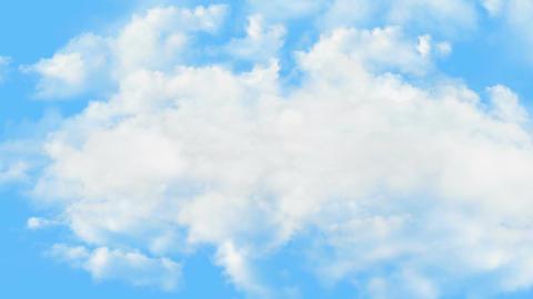 Clouds Loop Stock Video Footage