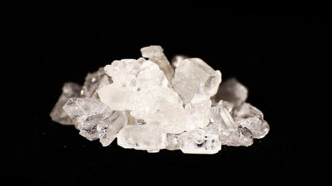 Heap of candied rock sugar Stock Video Footage