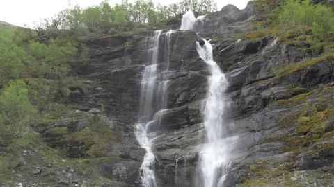 1080p, Waterfall, Norway Stock Video Footage