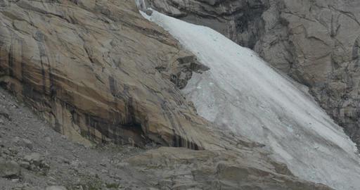 4K, Norway, Brikdalsbreen Glacier Stock Video Footage