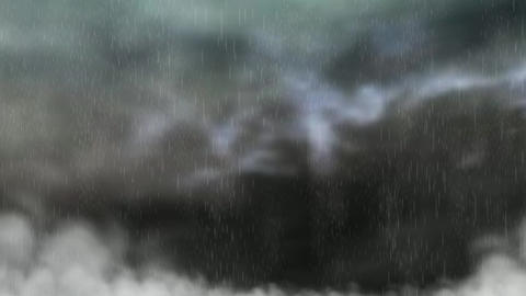 Animation of a severe Rain Animation