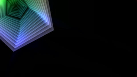Animation of a colorful Swirl, Stock Animation