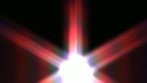 Animation of a bright shining Star Animation