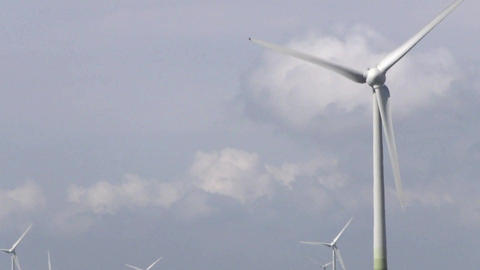 A Wind Turbine Or Wind Power Plant Stock Video Footage