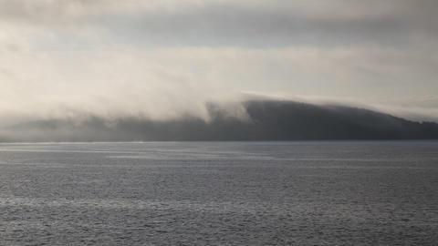 Navigation in North Sea. Norway Footage