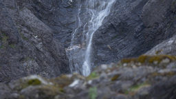 1080p, Waterfall, Mardalsfossen, Norway stock footage