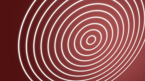 Spiral Waves Red Stock Video Footage