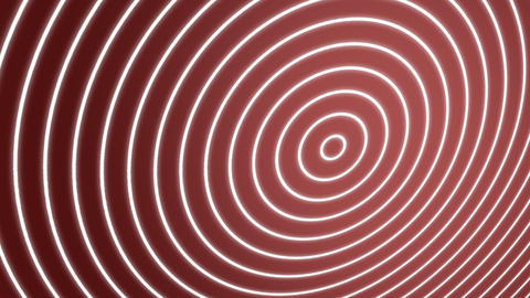 Spiral Waves Red Animation
