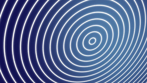 Spiral waves blue Animation
