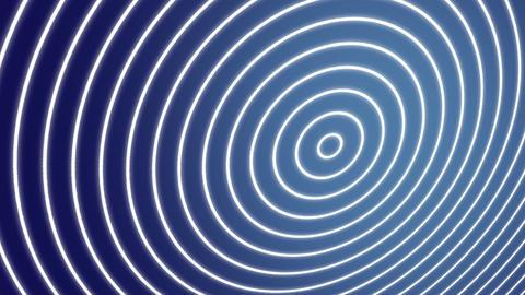 Spiral waves blue Animation