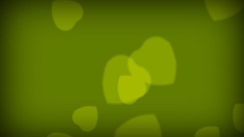 Love Hearts Green Footage