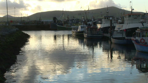 Stock Footage Of Dingle In Ireland stock footage