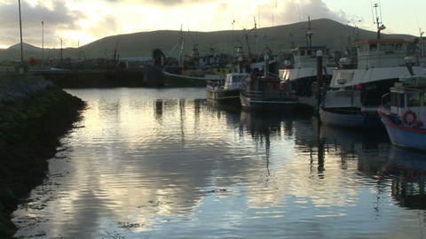 Stock Footage of Dingle in Ireland Stock Video Footage