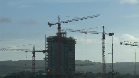 Industry Stock Footage of Construction Footage
