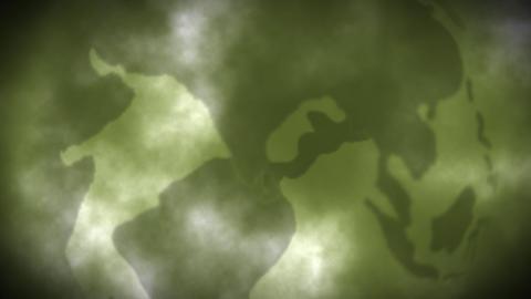 Background Animation Globe Haze Footage
