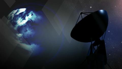 Satellite Variation Stock Video Footage