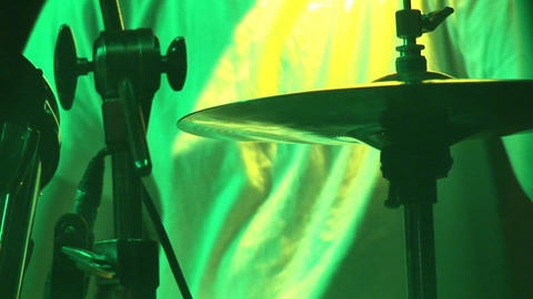 Stock Footage Playing Drums Live Action