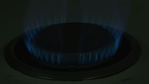 Stock Footage of Burning Gas Footage