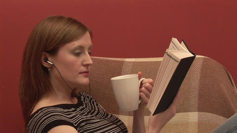 Stock Footage of a Person Relaxing Footage