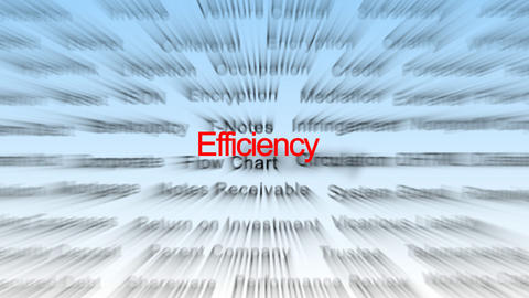 Efficiency Rays Stock Video Footage