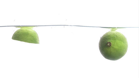 Stock Footage of a Lime Footage