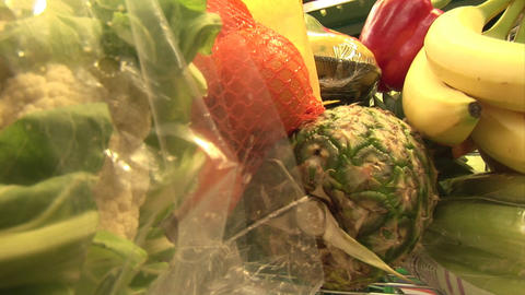Stock Footage of Grocery Shopping Stock Video Footage