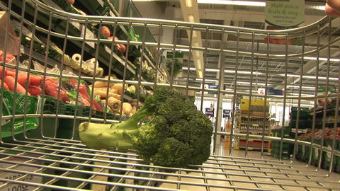 Stock Footage of Grocery Shopping Footage
