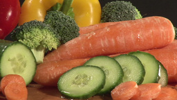 Stock Footage of Vegetables Stock Video Footage