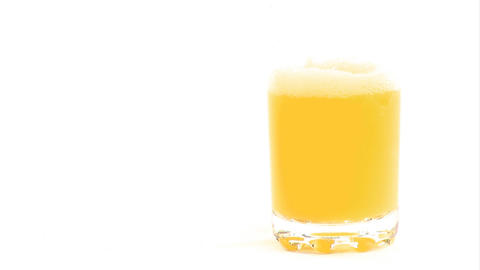 Stock Footage of Pouring Juice Stock Video Footage
