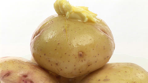 Stock Video Footage of Potatoes Footage