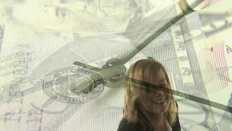 Money worries 1 Stock Video Footage
