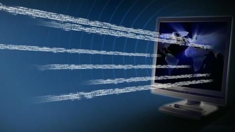 Internet Traffic Animation