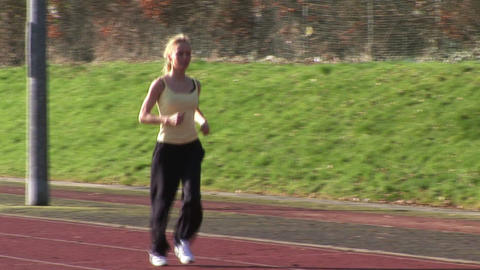 Track Field Athletics Stock Video Footage