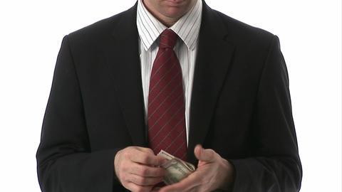 Successful Businessman stock footage