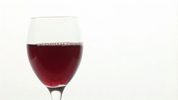 Pouring a Glass of Wine Stock Video Footage