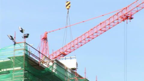 Construction Work Stock Video Footage